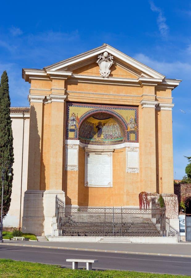 Scala Santa w Rzym, Włochy obrazy royalty free
