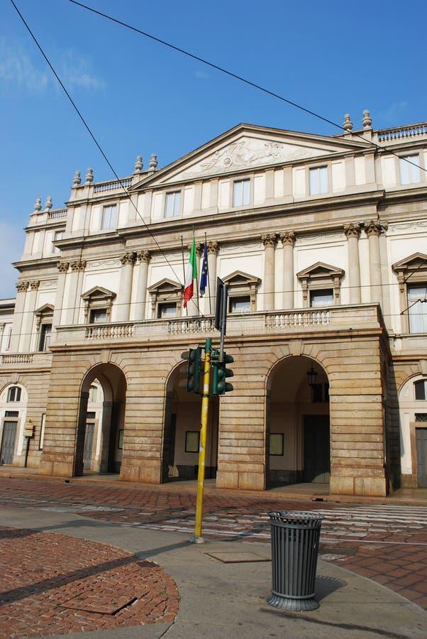Scala theater, Milan royalty free stock photography