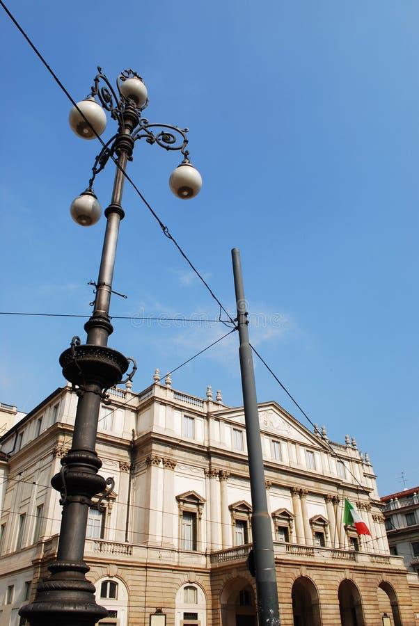 Scala theater, Milan royalty free stock photos
