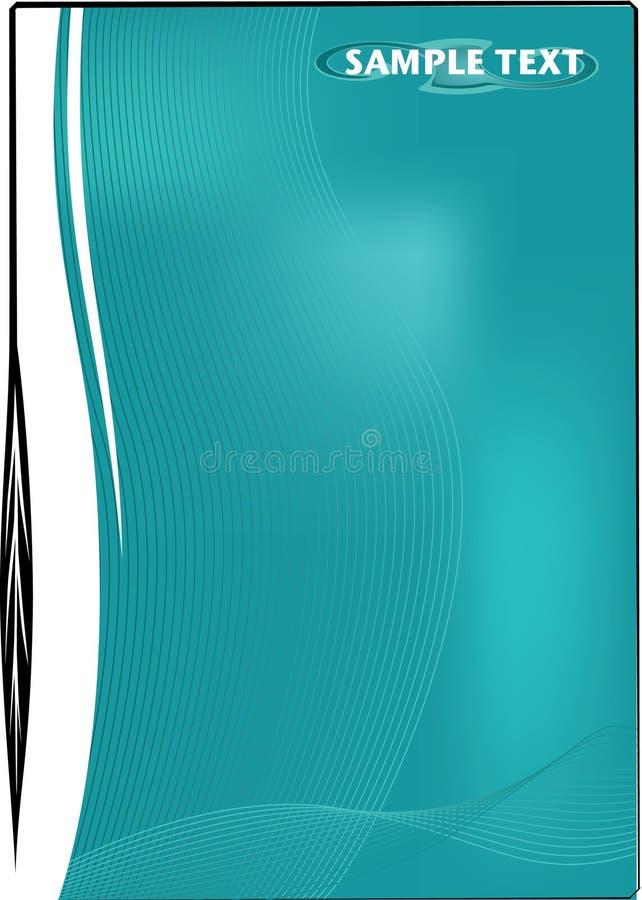 scalable vektor för aquabakgrundssida royaltyfri illustrationer
