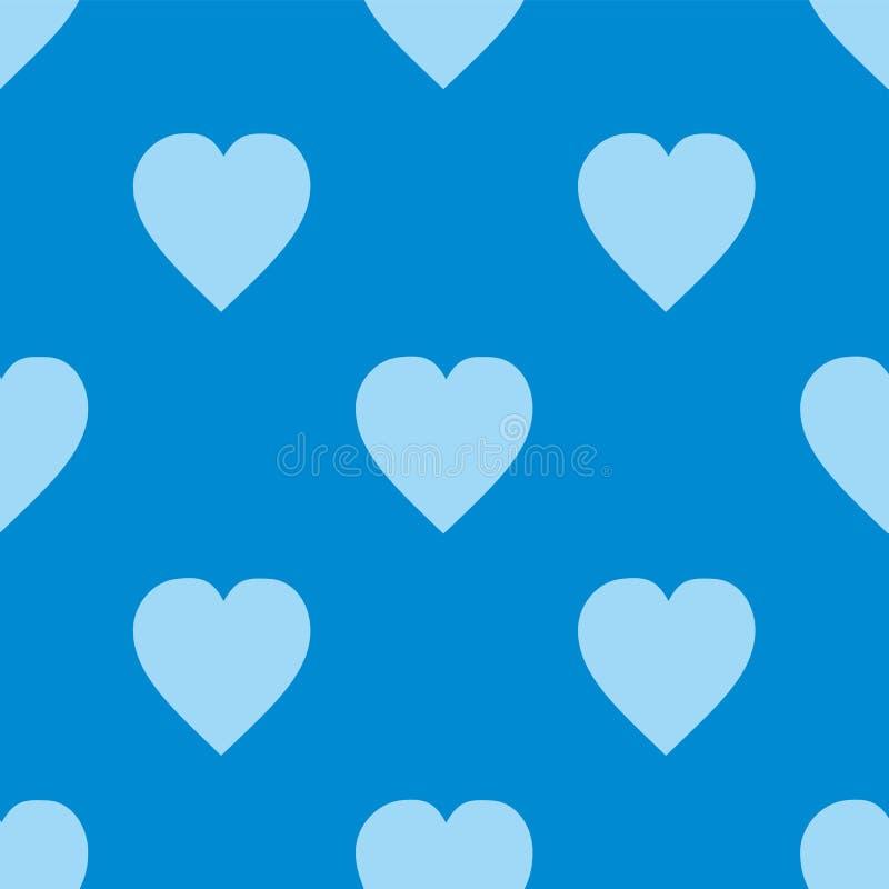 scalable vektor för redigerbar hjärtaillustrationmodell Plan skandinavisk stil för tryck på tyg, gåvasjal, rengöringsdukbakgrunde stock illustrationer