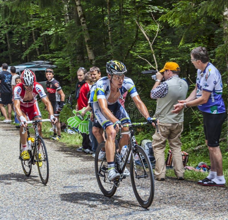 Scalata dei ciclisti