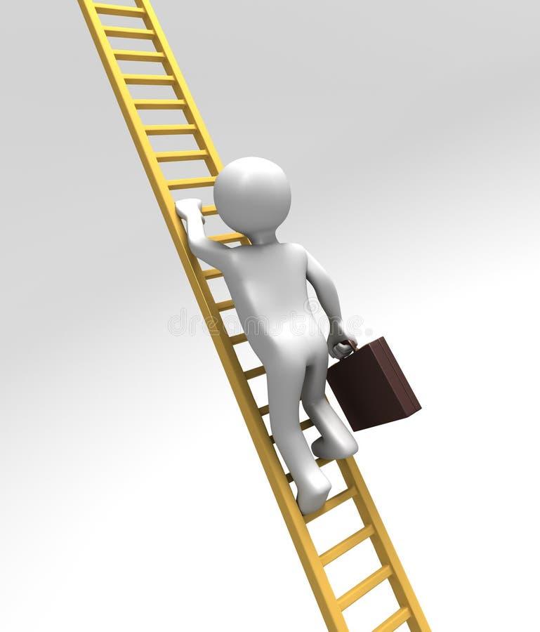 Scalatore corporativo della scaletta (con il percorso di residuo della potatura meccanica)