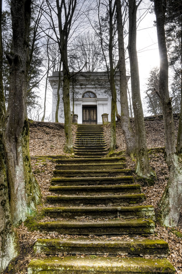 Scale al mausoleo fotografia stock