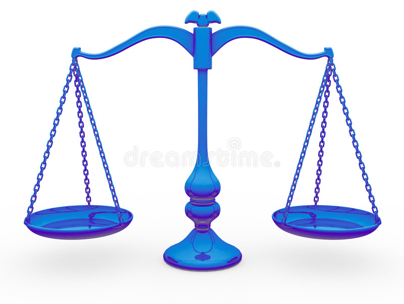 Scale Balance stock illustration