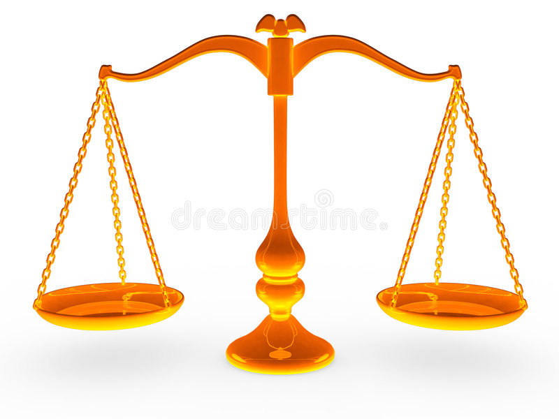 Scale Balance vector illustration