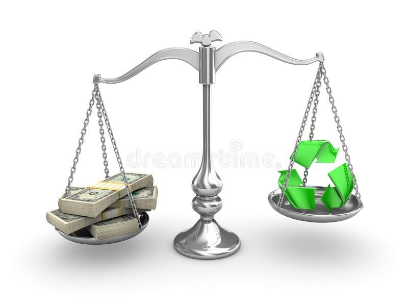 Scale Balance royalty free illustration