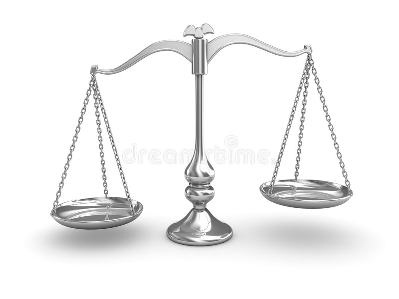 Scale Balance royalty free illustration