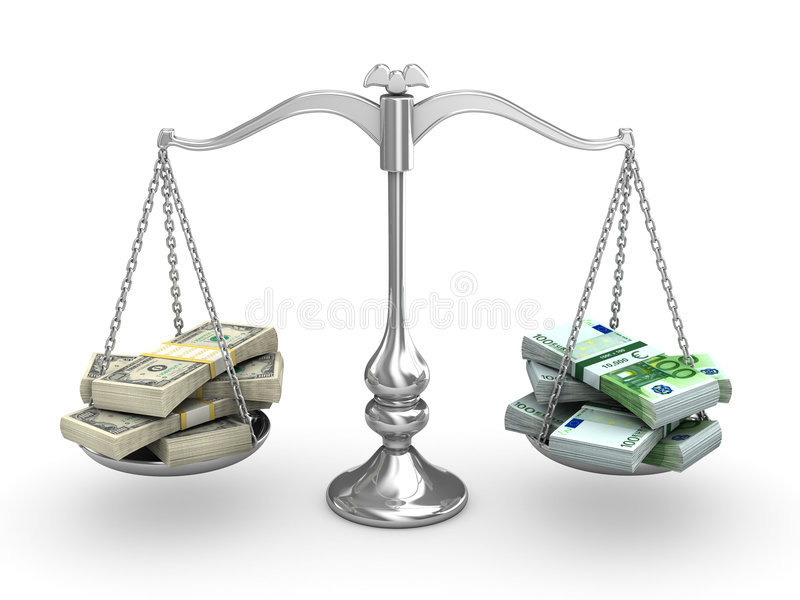 Scale Balance stock illustration