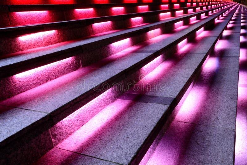 Scale colorate a Singapore fotografia stock libera da diritti