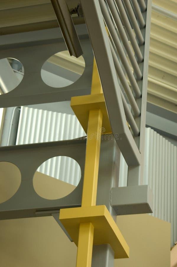 Scale d'acciaio grige fotografia stock