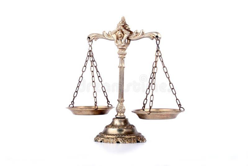 Scale decorative di giustizia immagini stock libere da diritti