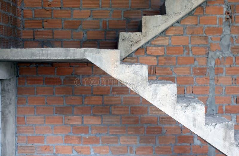 Scale del cemento o del calcestruzzo immagine stock - Como hacer una escalera de madera para entrepiso ...