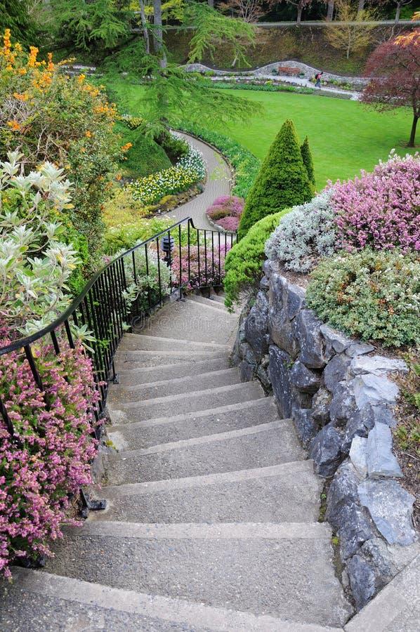 Scale del giardino immagine stock immagine di esterno 20865425 - Scale in giardino ...