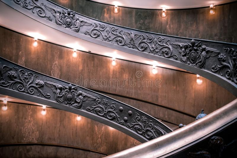 Scale del Vaticano immagine stock