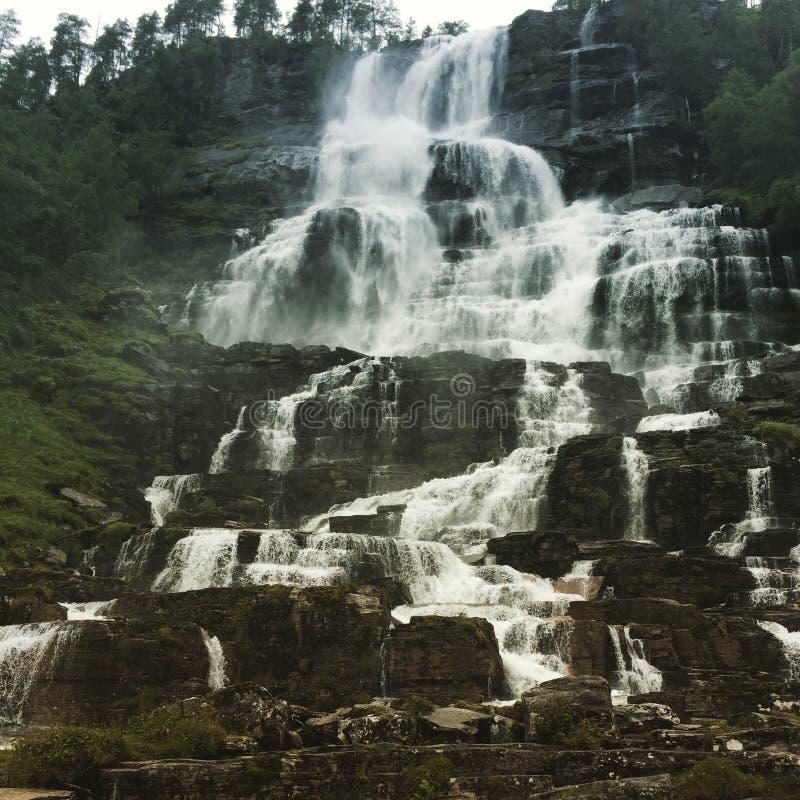 Scale della cascata fotografie stock libere da diritti