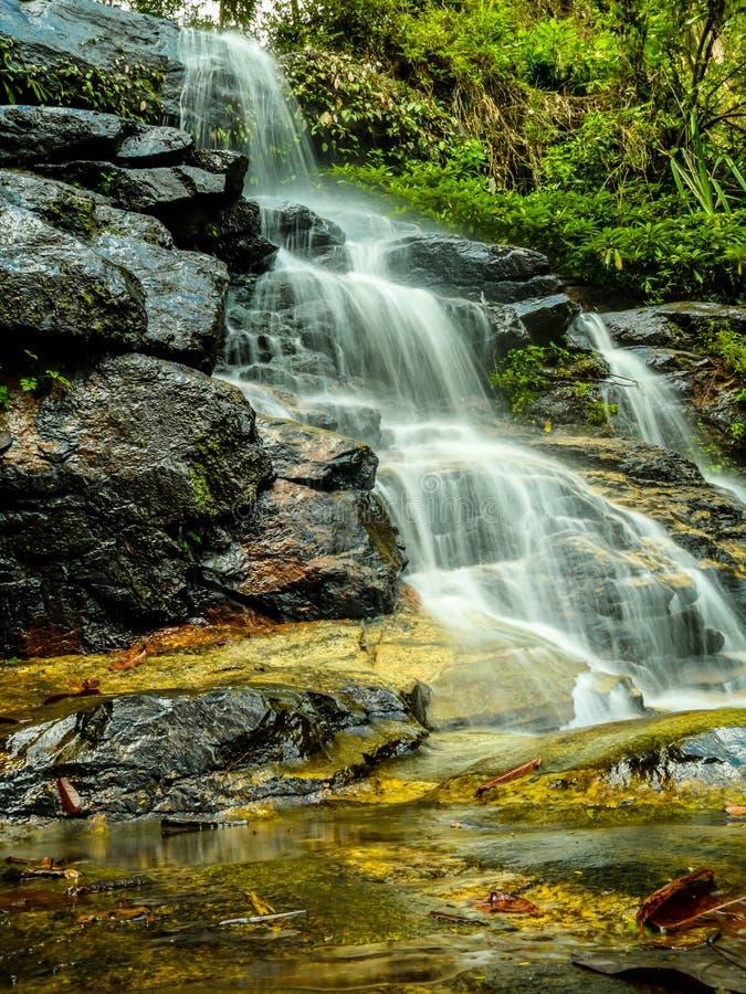 Scale della cascata fotografia stock