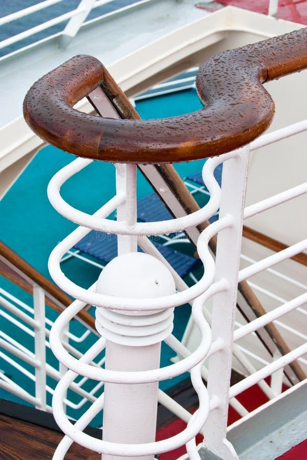 Scale della nave da crociera fotografie stock