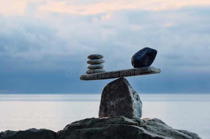 Scale della pietra fotografia stock
