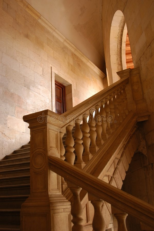 Scale di Alhambra fotografia stock