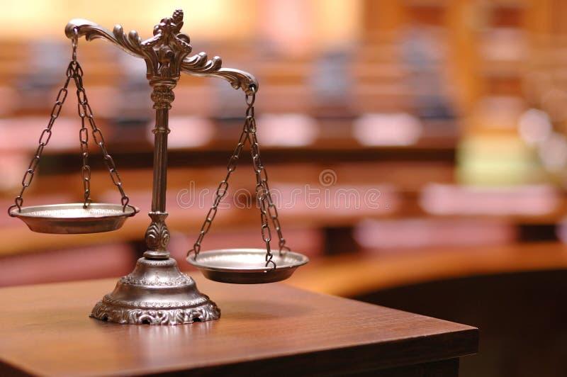 Scale di giustizia immagini stock libere da diritti
