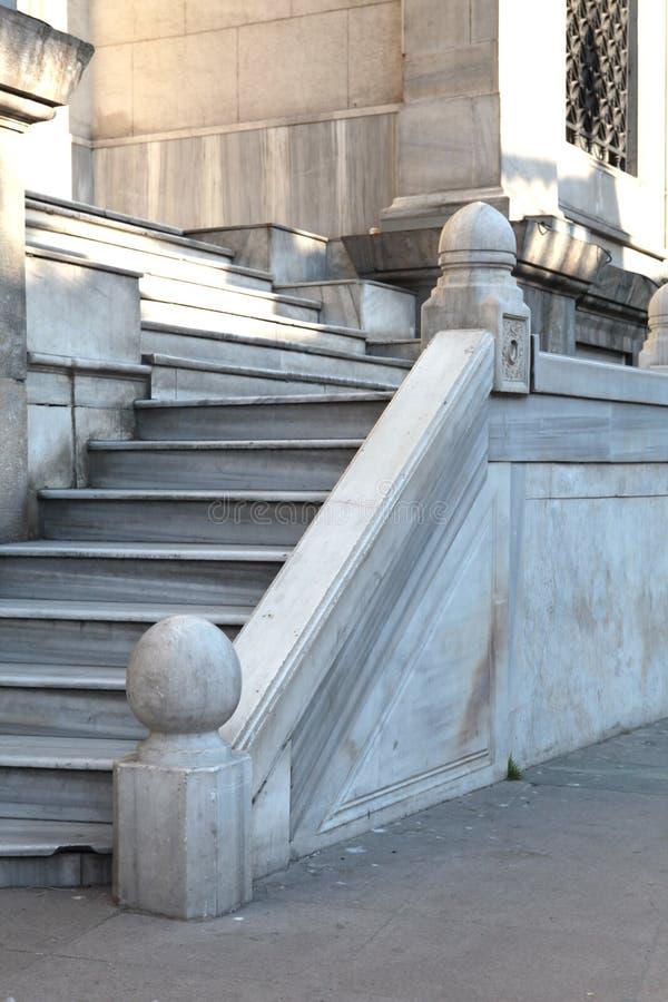 Scale di marmo storiche fotografia stock libera da diritti