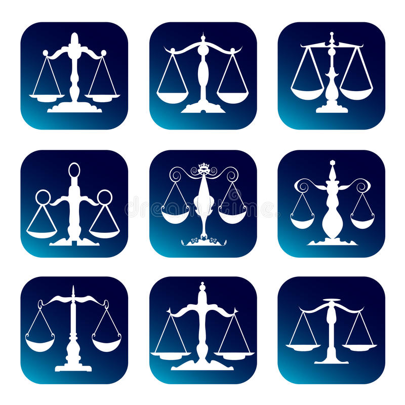Download Scale of justice stock vector. Illustration of criminal - 15864477