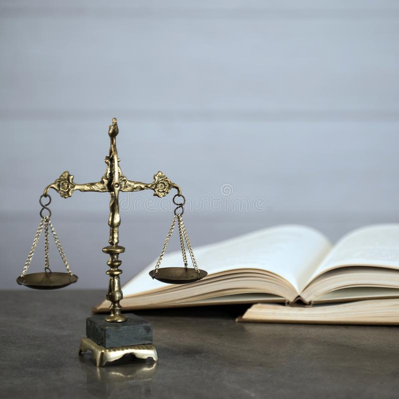 Scale Of Justice. The Criminal Law. Stock Photo - Image of ...