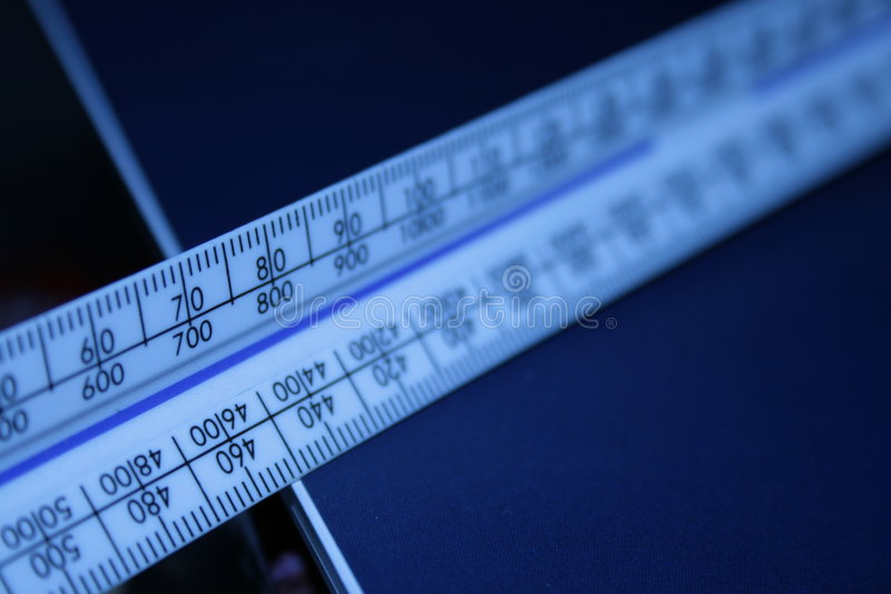 Scale ruler royalty free stock photo