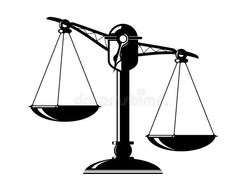 Download Scale stock illustration. Image of weighing, judiciary - 35746252