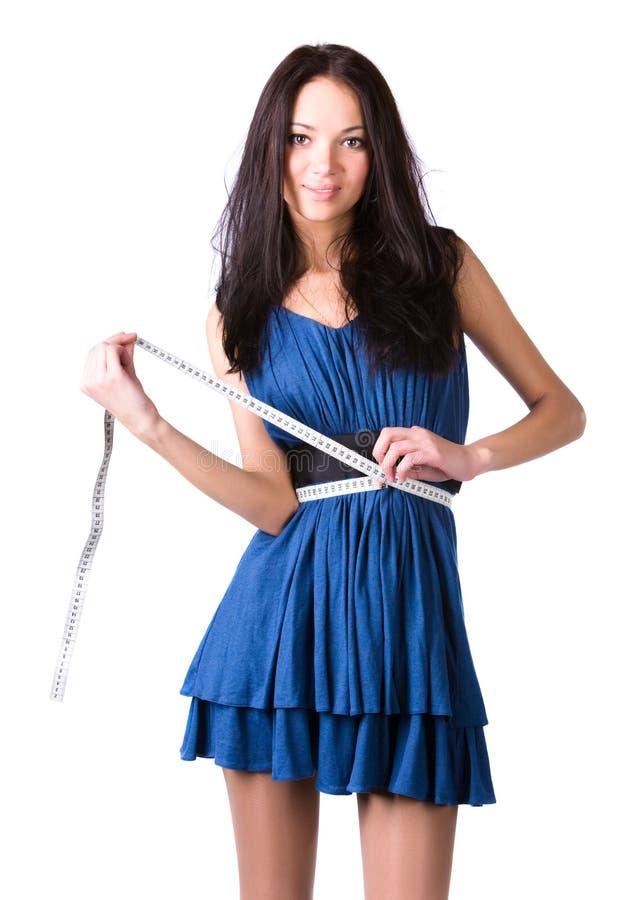 scale slim woman young στοκ φωτογραφία με δικαίωμα ελεύθερης χρήσης