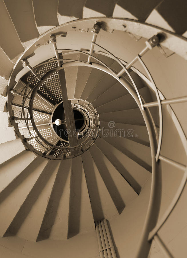 Scale a spirale immagini stock