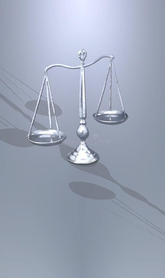 Download Scale Stilizzate Di Giustizia Illustrazione di Stock - Illustrazione di concettuale, legge: 3887538