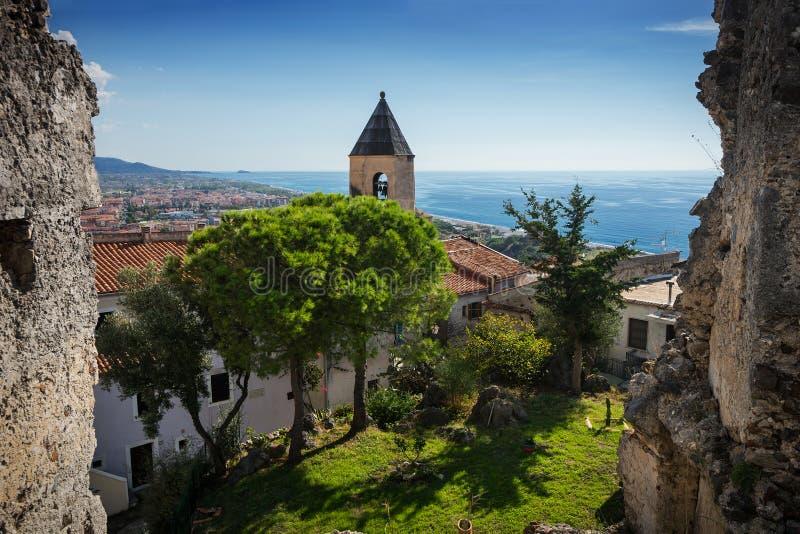 Scalea, Cosenza, Kalabrien, Italien lizenzfreies stockfoto