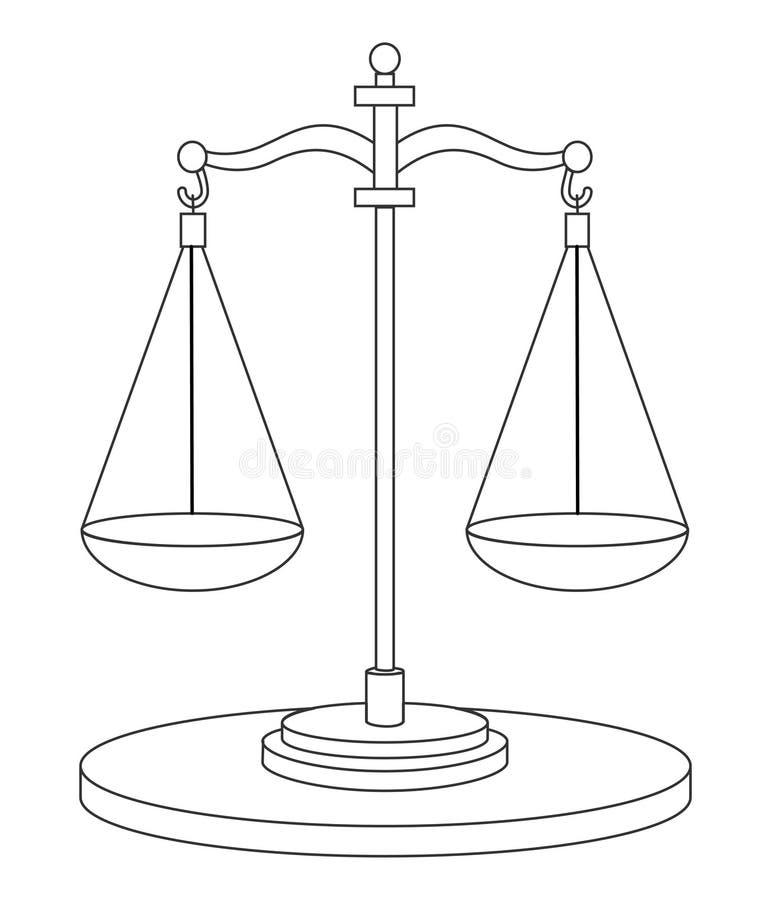 scales vektor illustrationer