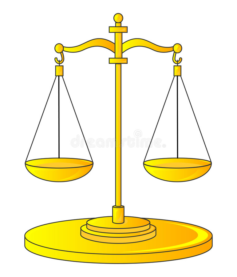 Download Scales stock vector. Illustration of consider, judge, loss - 2951803