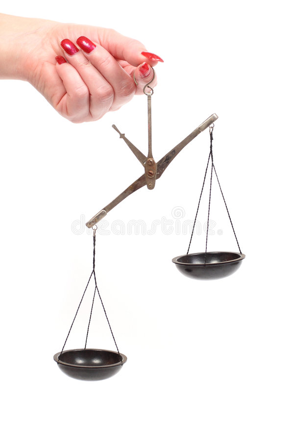 Download Scales stock photo. Image of measuring, empty, balance - 5238952