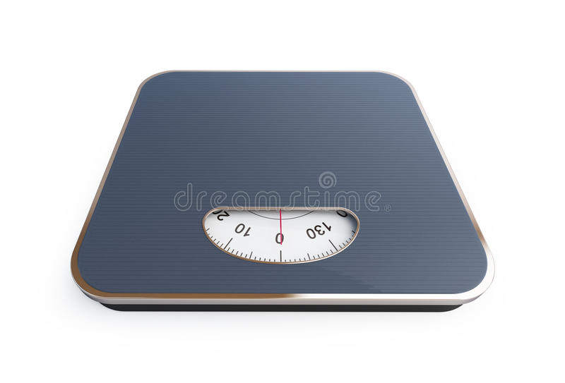 Scales. 3D rendering stock illustration