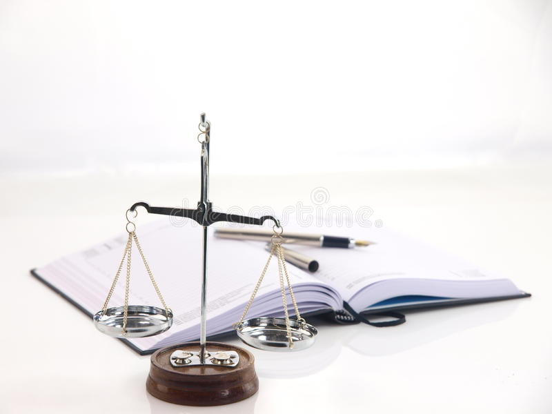 Scales of justice stock images