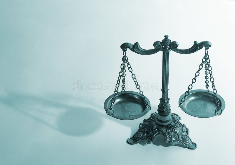 Scales of Justice stock photography