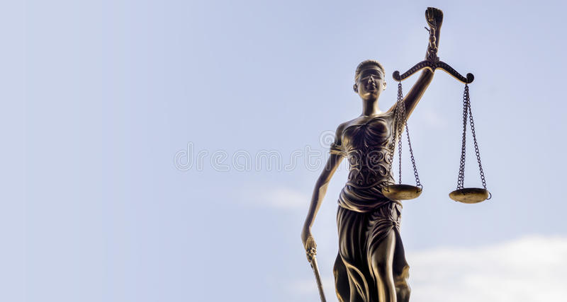 Scales of Justice background - legal law concept royalty free stock photos