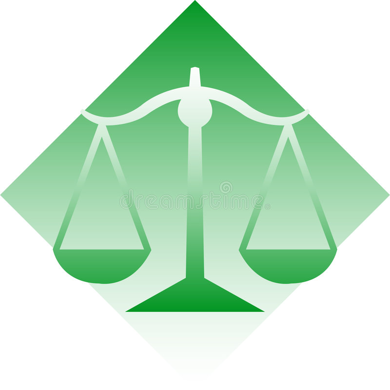 Scales of Justice/eps royalty free stock image