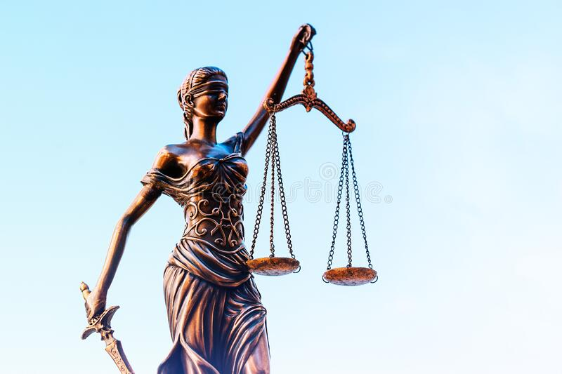 Scales of Justice  legal law books concept imagery royalty free stock images