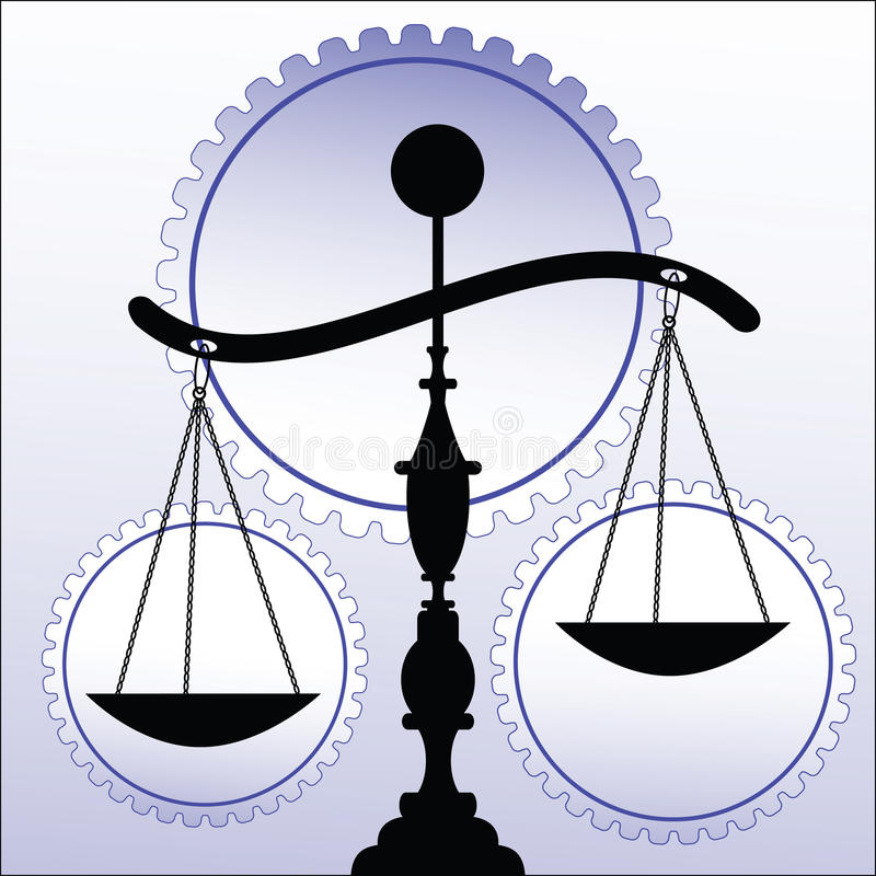 Free Scales Of Justice Royalty Free Stock Image - 10667226