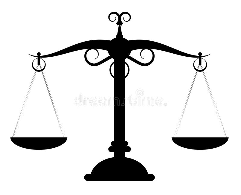 Download Scales weight stock vector. Illustration of legal, weight - 26115604