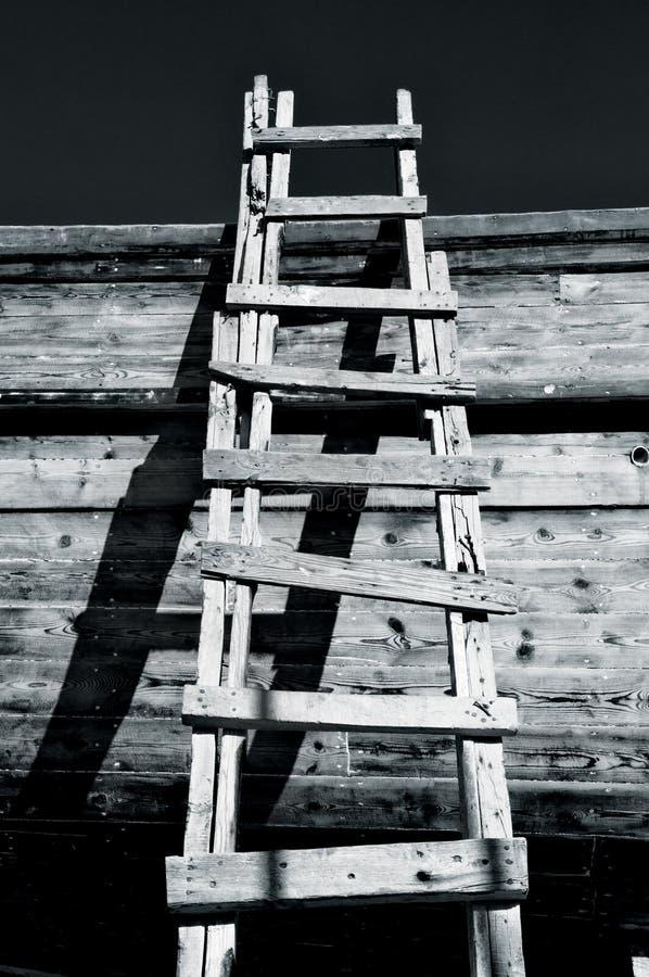 Scaletta & ombre Grungy fotografia stock libera da diritti