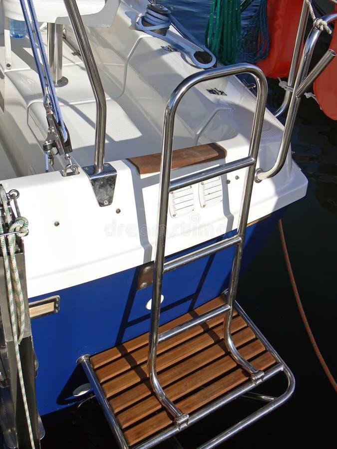 Scaletta del crogiolo di vela fotografia stock libera da diritti