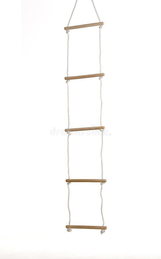 Scaletta di corda fotografia stock