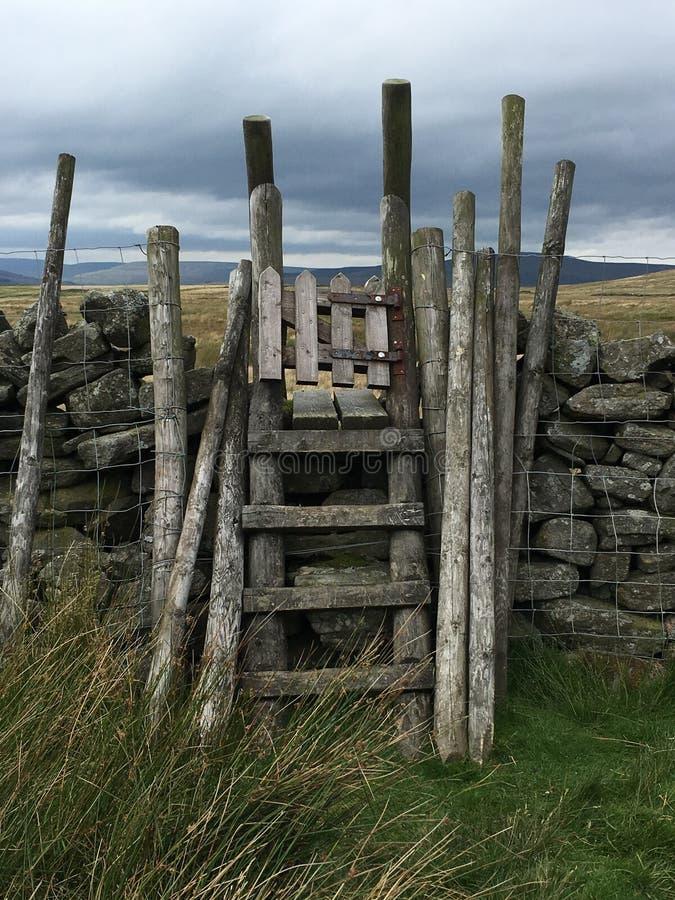 Scaletta grande Whernside North Yorkshire immagine stock libera da diritti
