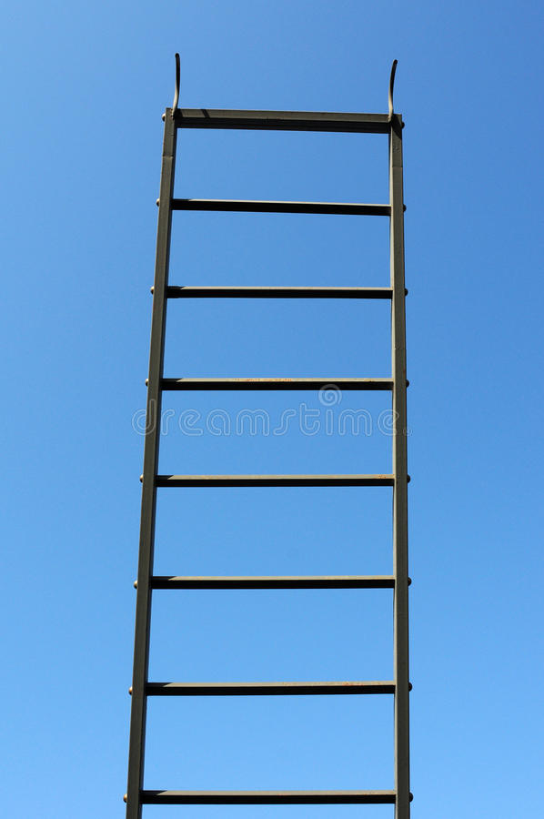 Scaling ladder royalty free stock photos